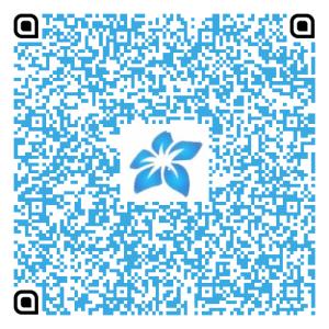 Código QR dos dados do Centro de Cultura Espírita